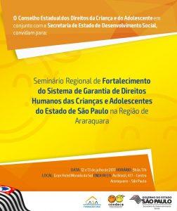 Seminário Regional em Araraquara